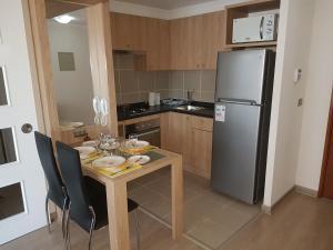 Una cocina o zona de cocina en Hector Crisostomo