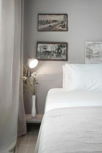 Een bed of bedden in een kamer bij Sole e mare