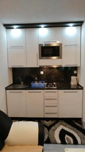 Kuhinja ili čajna kuhinja u objektu Apartments Ayla