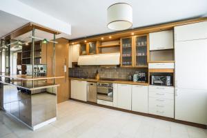 A kitchen or kitchenette at Sofia Esenss Two-Level Apartment