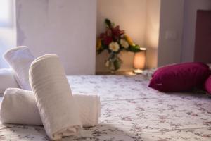 Letto o letti in una camera di The Jujube Flower