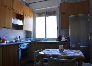 Cuisine ou kitchenette dans l'établissement Les Deux Freres Apartment