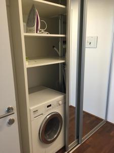 Ein Badezimmer in der Unterkunft Salzburg City Appartement