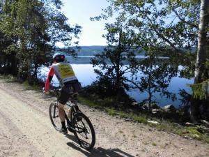 Biking at or in the surroundings of Mattila