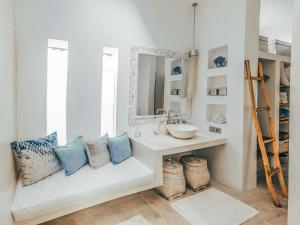 A bathroom at Cloud Nine Estate