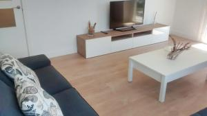 A television and/or entertainment center at Apartamento Juan XXIII Plaza