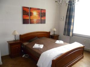 Un ou plusieurs lits dans un hébergement de l'établissement City Apartment Oostende Zeedijk