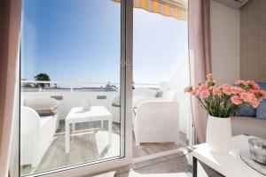 Balkon lub taras w obiekcie Ocean View Apartments