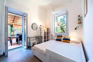 Cama ou camas em um quarto em A casa di Edi