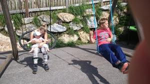 Children staying at Stallerhof