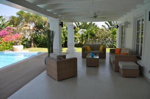 สระว่ายน้ำที่อยู่ใกล้ ๆ หรือใน Balinese villa with private pool
