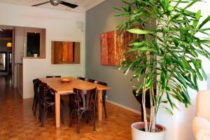 Zona de menjador de l'apartament