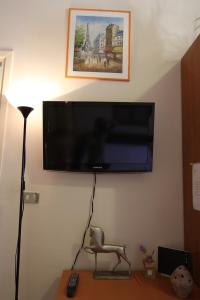 A television and/or entertainment center at Apartment Central Station