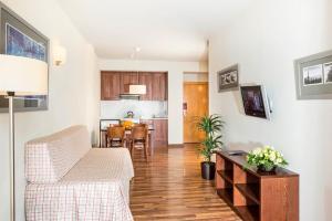 Zona de estar de Guitart La Molina Aparthotel & Spa