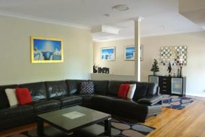 A seating area at The Beach Townhouse