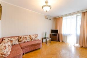 A seating area at Serviced Apartments Mayakovskaya