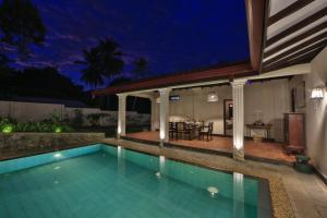 The swimming pool at or near Arvani Villa