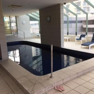 The swimming pool at or near 2402 Beachcomber studio Ocean View free wifi/Netflix