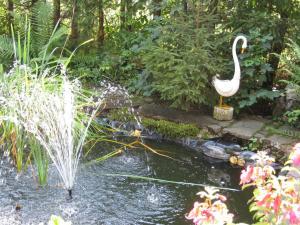 Jardin de l'établissement Apartements Ingrid Unhoch-Raggl