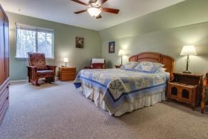 Ein Bett oder Betten in einem Zimmer der Unterkunft Gunni Getaway