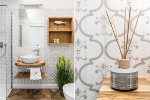 A bathroom at Parkowa
