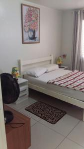 A bed or beds in a room at Casa Temporada - 2 Quartos
