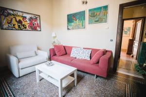 Area soggiorno di La Casetta Di Filippo E Chiara