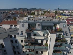 מבט מלמעלה על Nadland Apartment Kunzgasse