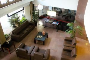 The lobby or reception area at Flat Oeste La Residence