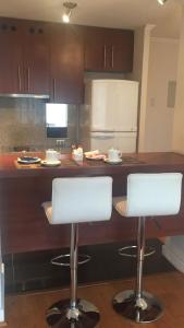 Una cocina o zona de cocina en Providencia PRO Apart Hotel