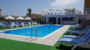 The swimming pool at or near Roda Pearl Resort
