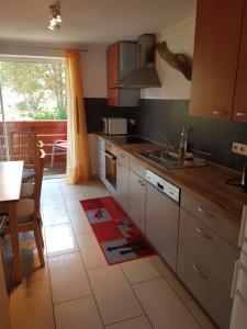A kitchen or kitchenette at Casa Patrizia