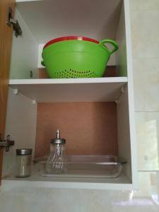 Una cocina o zona de cocina en Departamento Gimar Traiguen