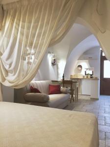 Krevet ili kreveti u jedinici u objektu casa morelli 33