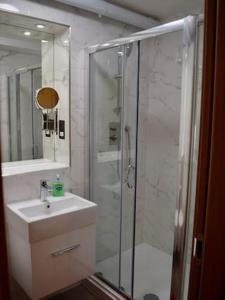 חדר רחצה ב-Highfield Avenue Apartment 1/Apartment