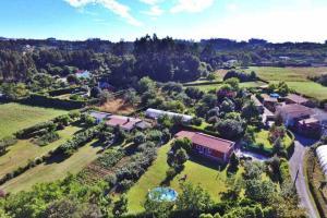 Een luchtfoto van Casa Finca Patelo