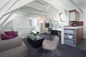Oleskelutila majoituspaikassa Hapimag Resort Amsterdam