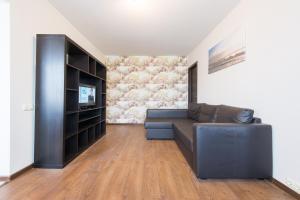 Гостиная зона в Apartment Nezavisimosti 48