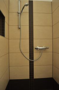 Ein Badezimmer in der Unterkunft Ferienwohnungen Gehlberg