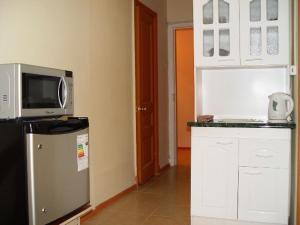 Una cocina o zona de cocina en Opera Santiago