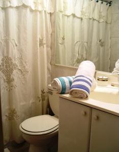 Un baño de Costanera Center Apartment