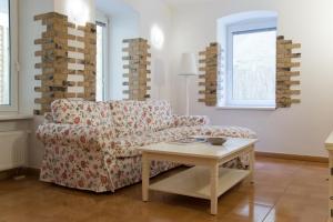 Кът за сядане в Sweet Home At Dunajska St.