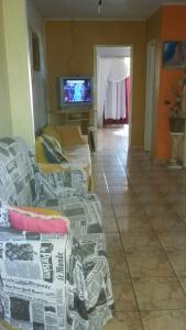 A television and/or entertainment center at Casa Sonia