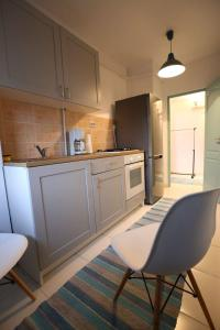 A kitchen or kitchenette at Dorobanti Suite