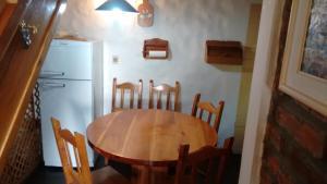 Área para comer en la casa de vacaciones