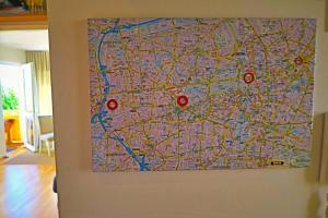 A bathroom at Apartment Berlin-City