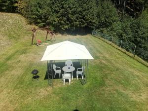 Zahrada ubytování Apartmá Království Beskyd