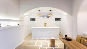 A bathroom at Naxos Euphoria Suites