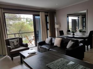 Istumisnurk majutusasutuses Rieks van der Walt Self-Catering Apartment