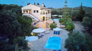 A view of the pool at Galazio Sunset Villas or nearby